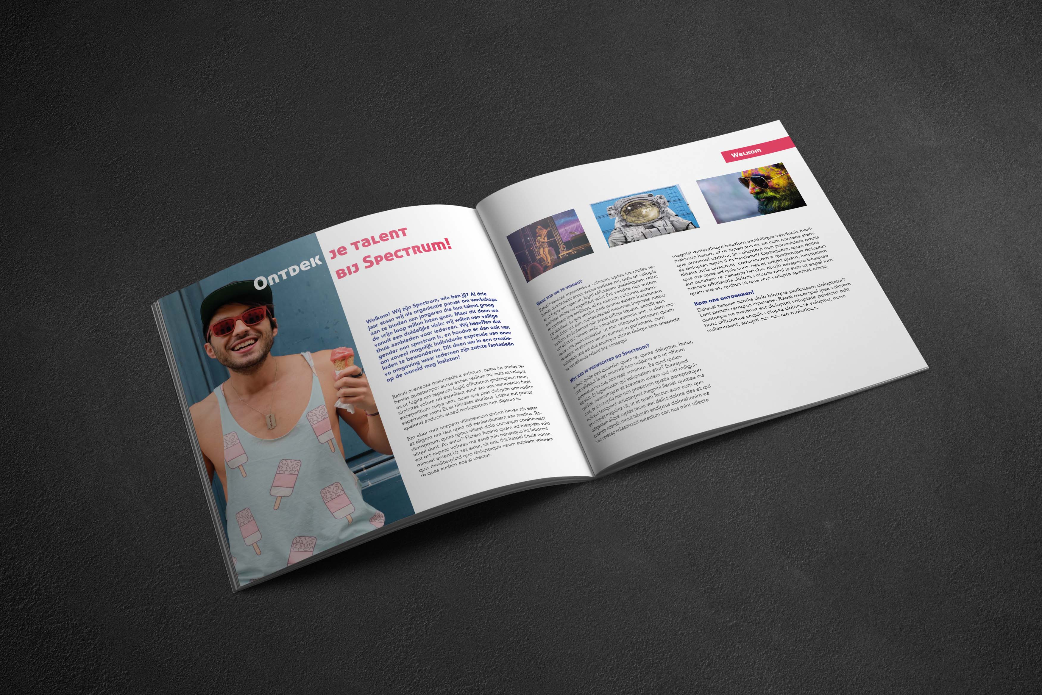 intro design brochure
